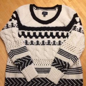 American Eagle Cable Knit Sweater - Size S